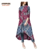 18 autumn african dress for women Private Custom half sleeve mid-calf length no lining casual dress 100% batik cotton A7225114