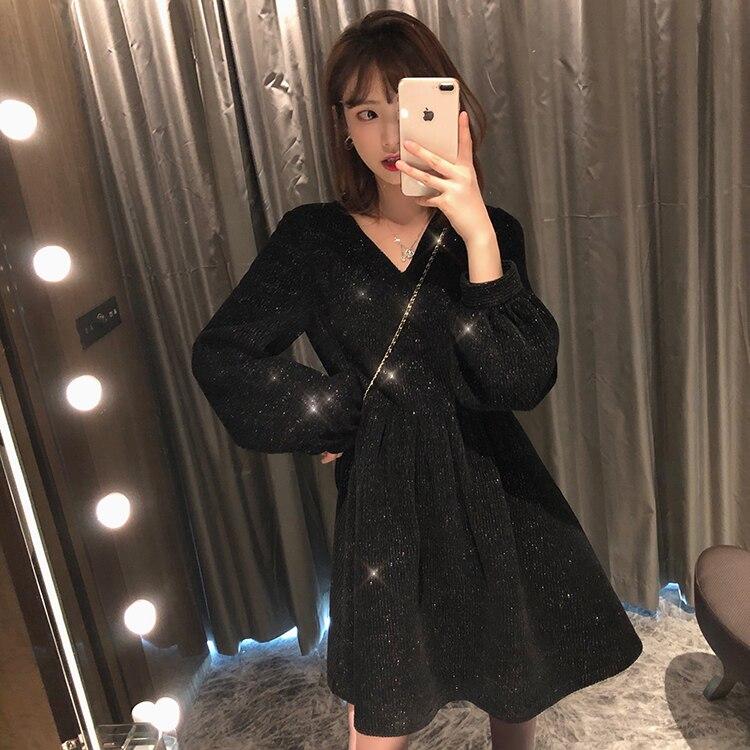Women Dress Plus Size Half Sleeve Loose Long Formal Party Dress