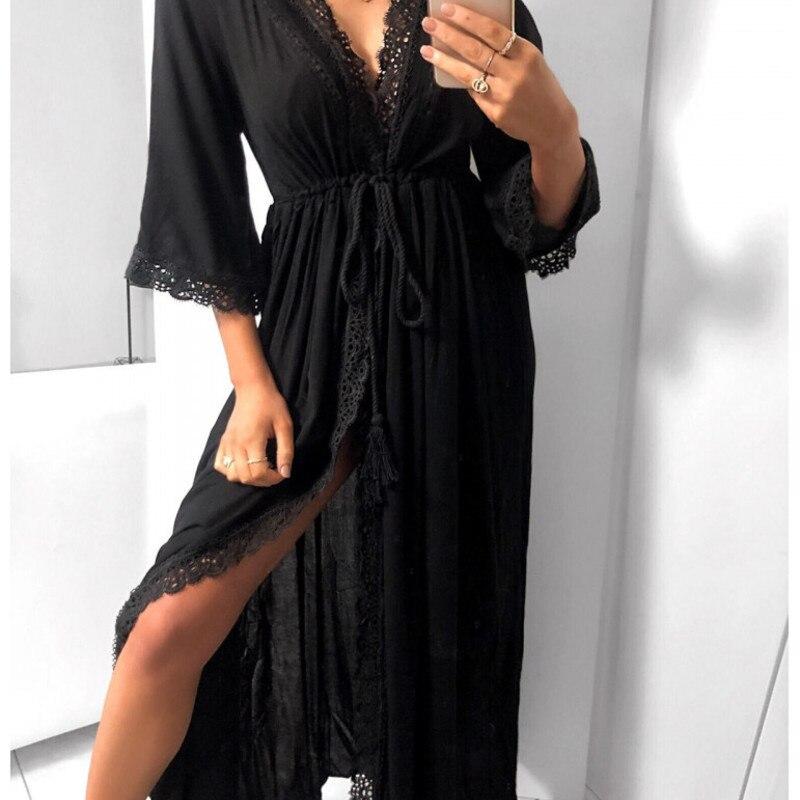 Beach Dresses And Tunics Chic Plus Size Long Designer Bodycon Dress For Woman 19 Boho Trendy Clothing Summer Sukienka Maxi 2