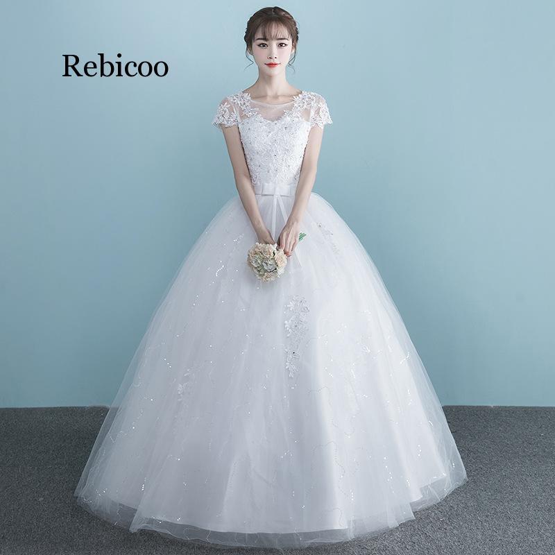 Women Dress Plus Size High Waist One Shoulder Half And Short Sleeve Pregnant Bride Dress Vestidos De Novia 3