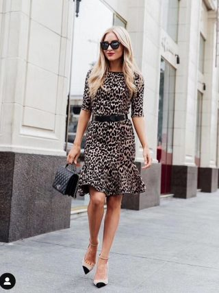 High Quality Summer Dress Women Sexy Half Sleeve Leopard Party Dress 19 Elegant Fishtail Bodycon Dress