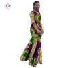 African Dresses for Women Dashiki African Print Clothing Half Sleeve Mermaid Dress Maxi Dress BRW Plus Size 6XL WY406
