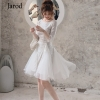 Runway Women Mesh Ball Gown Party Dress Spring Sexy Sequined Half Sleeve Slim Luxury Fashion Designer Dress Elegant Vestido