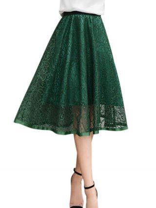 ROPALIA Mesh Women Solid Ball Grown Skirt Fashion Girls Empire Summer Spring Lovely Party Club Skirt