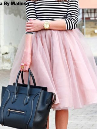 Spring Tutu Skirt Women Girls Princess Fluffy Pleated Womens Jupe Femme Faldas Rokken Summer Custom Made 7 Layers Tulle Skirts