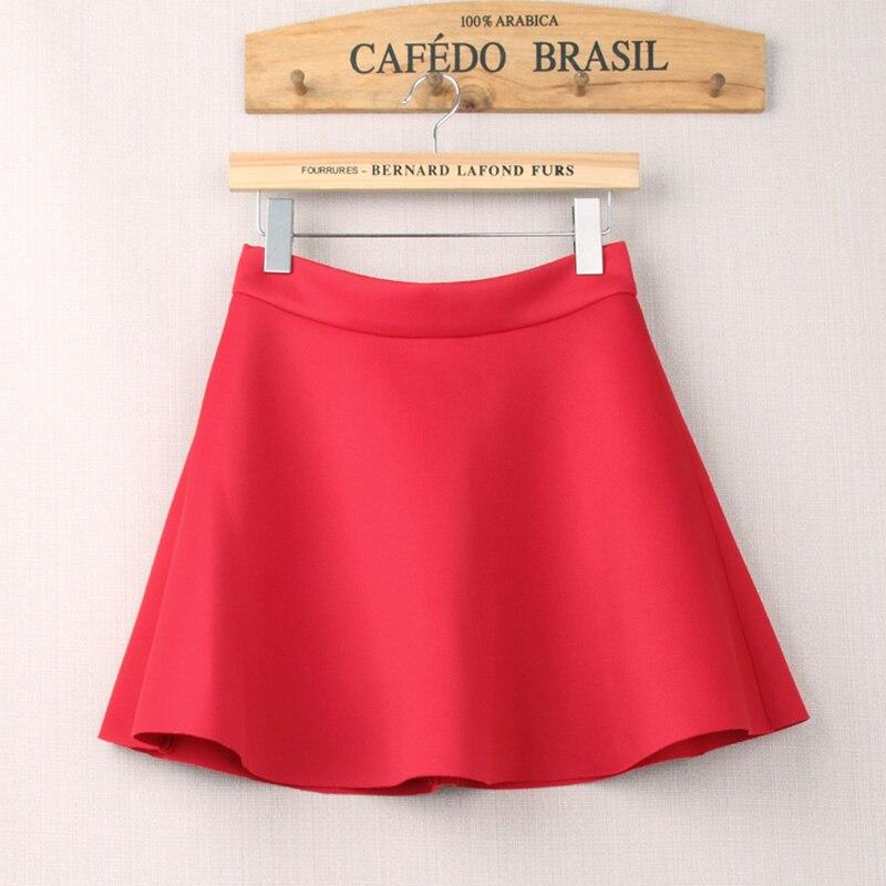 HSPL Mini Skirts Womens High Waist Pleated Midi 17 Summer Vintage Skirt Work Wear Hepburn Skirts Lady American Europe Saia 2