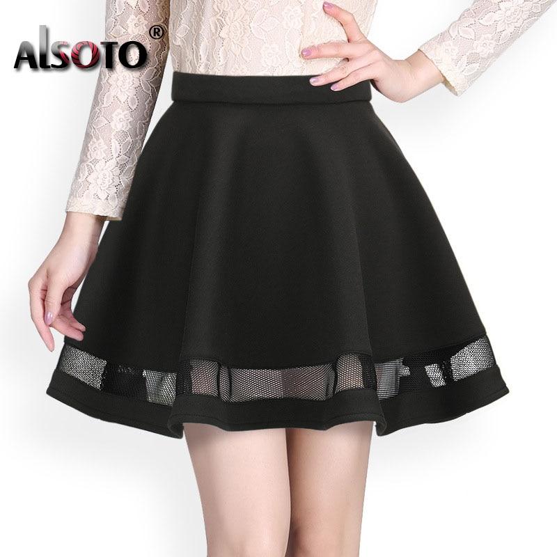 Fashion women skirt kawaii faldas ladies midi skirt Sexy skirts womens Pleated skirts saias Korea clothes summer tutu femme 1