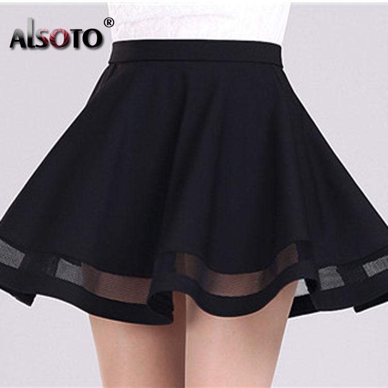 Fashion women skirt kawaii faldas ladies midi skirt Sexy skirts womens Pleated skirts saias Korea clothes summer tutu femme 3