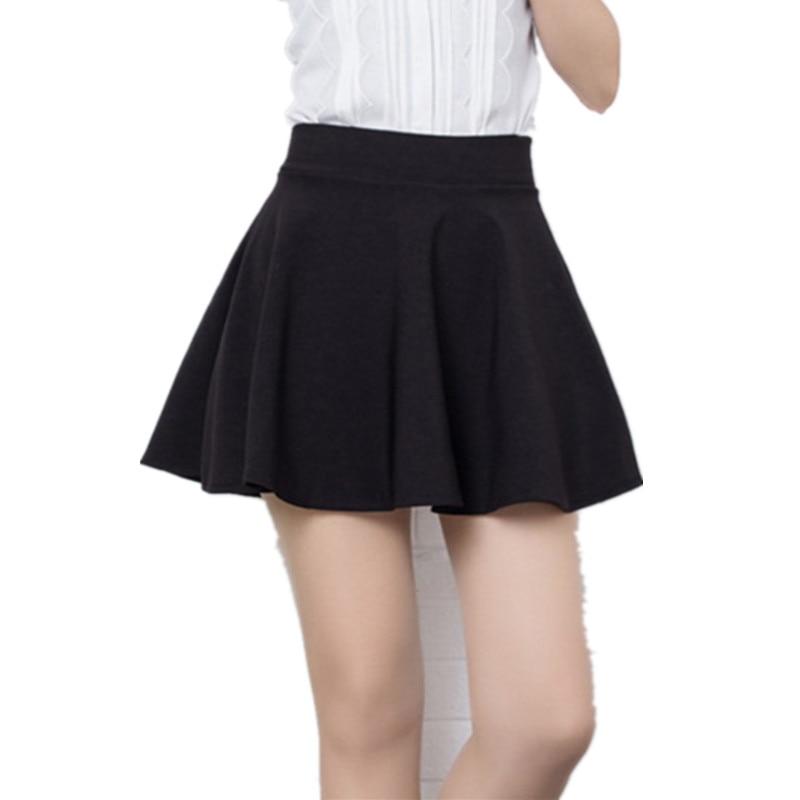 Brand Design Ball Gown for women Short Skirt girl Autumn And Winter Fit School Skirt Red Back Color Women Clothing Pleated skirt 1