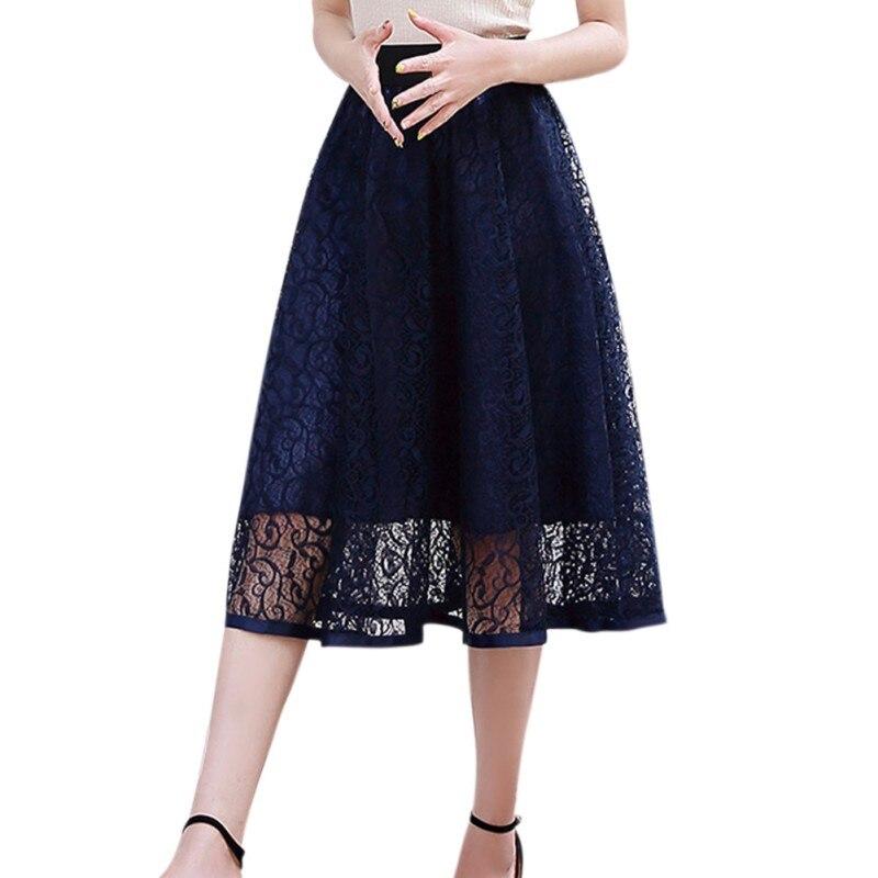 ROPALIA Mesh Women Solid Ball Grown Skirt Fashion Girls Empire Summer Spring Lovely Party Club Skirt 3