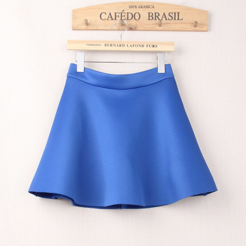 HSPL Mini Skirts Womens High Waist Pleated Midi 17 Summer Vintage Skirt Work Wear Hepburn Skirts Lady American Europe Saia 3