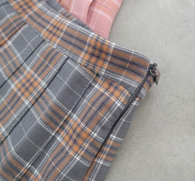 Wemon skirt Spring summer lattice Bouffancy Short skirt Paige A word skirt(Safety trousers in skirt) 3