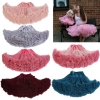 Cosplay fluffy Teenage tutu skirt veil performances skirt Sexy Role Play Pleate Mini Skirt Ruffle for Schoolgirl