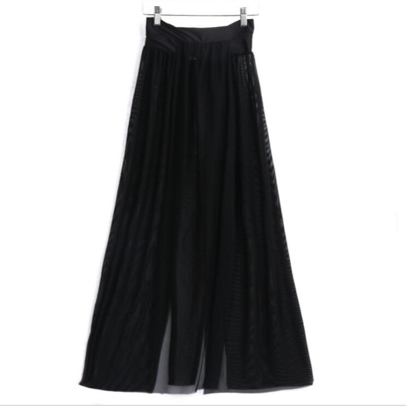 16 Sexy Women Summer Skirt Beach Fashion Casual Maxi Skirt Evening Party Long Skirt 5 Colors 2
