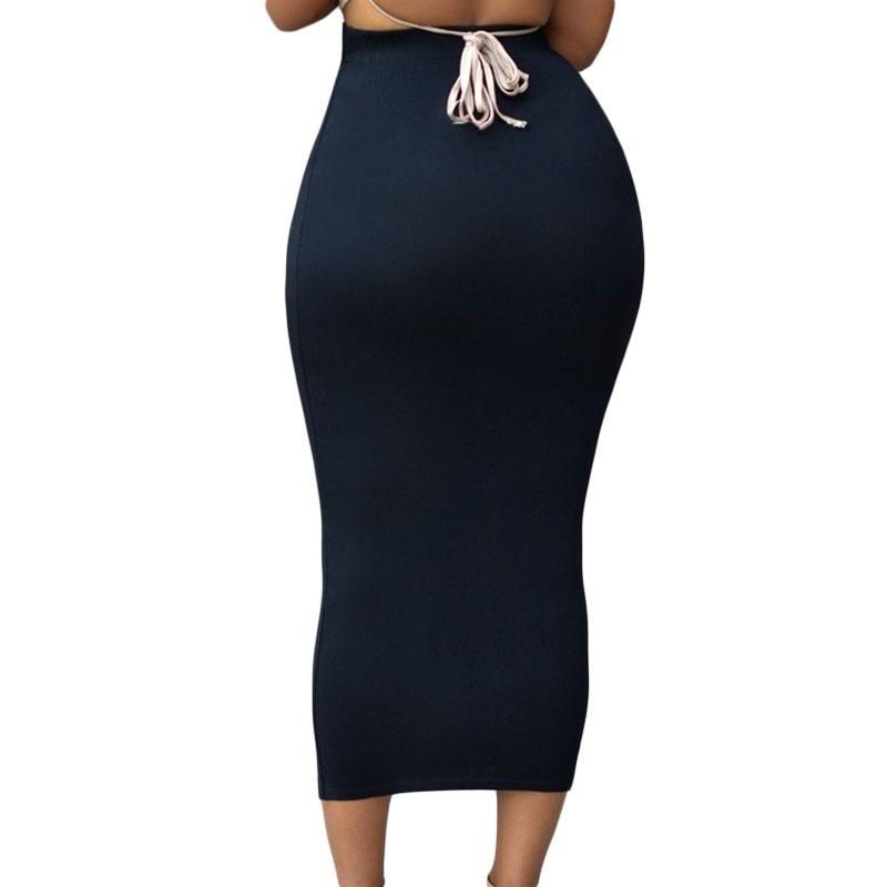 SEBOWEL Sexy Women Summer Bodycon Long Skirt Black High Waist Tight Maxi Skirts Female Club Party Wear Elegant Pencil Skirt 19 2