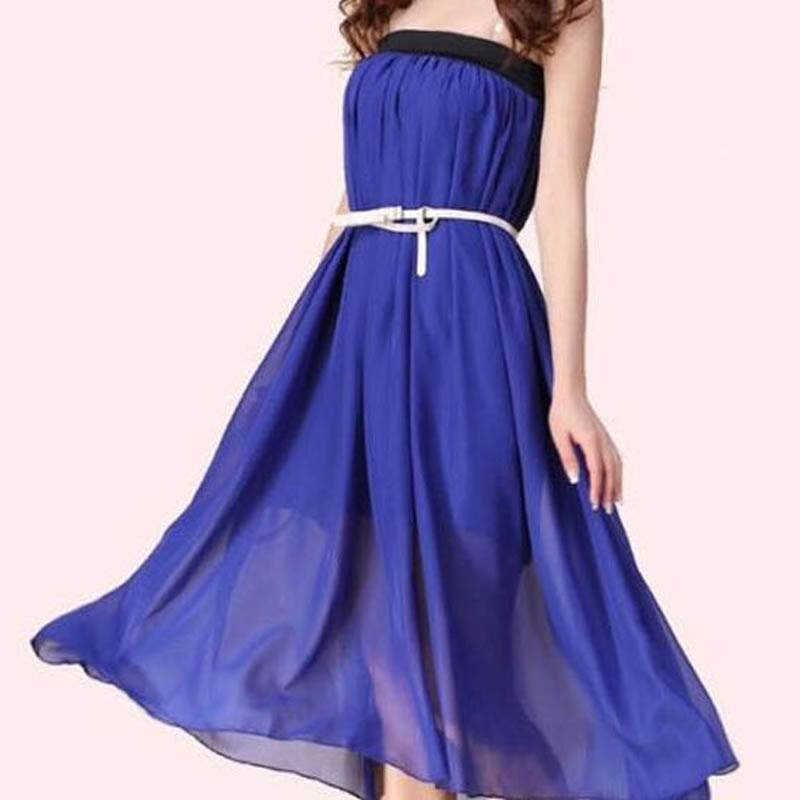 New Brand Fashion Designer Sexy Style Skirt Women Sexy Chiffon Candy Color Long Skirt High Quality Nice designs Hot selling 3