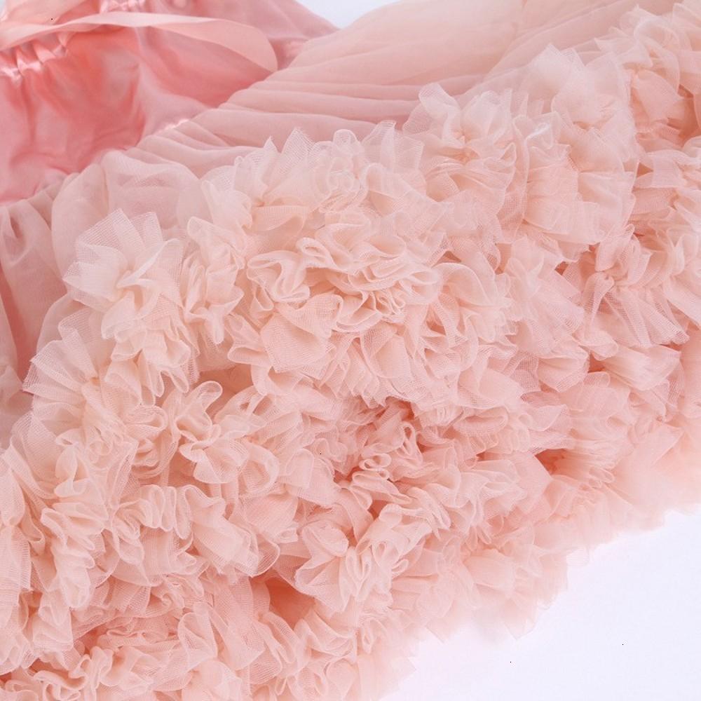 Cosplay fluffy Teenage tutu skirt veil performances skirt Sexy Role Play Pleate Mini Skirt Ruffle for Schoolgirl 3