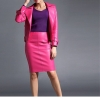 Faux Leather skirts Sexy Pu leather Skirt Black pink office Women Leather Skirt 19 Autumn Winter Women pencil Faux Leather skirts Sexy Pu leather Skirt Black pink office Lady skirts