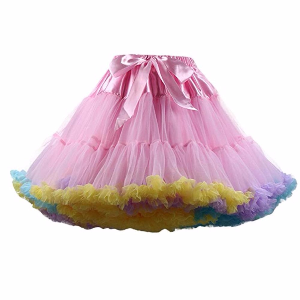 FOLOBE Women's Girls Tutu Skirts Costume Ballet Dancewear Skirts Multi-layer Puffy Skirt Luxurious Petticoat Underskirts TT004 1
