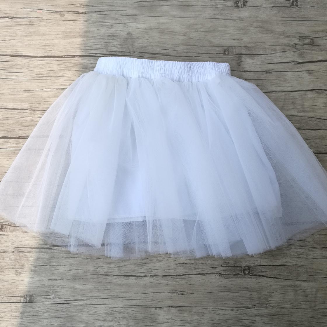 Summer Womens Mini Tulle Skirt Fairy Style Custom Made 5 layers saia Voile Bouffant Puffy Fashion Skirt Summer Tutu Skirts 1