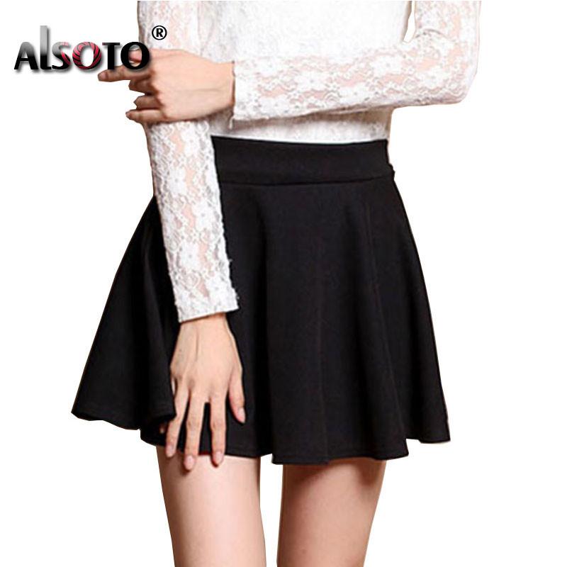 New 19 Summer sexy Skirt for Girl Korean cute Short Skater Fashion female mini Skirt Women Clothing saia Bottoms jupe faldas