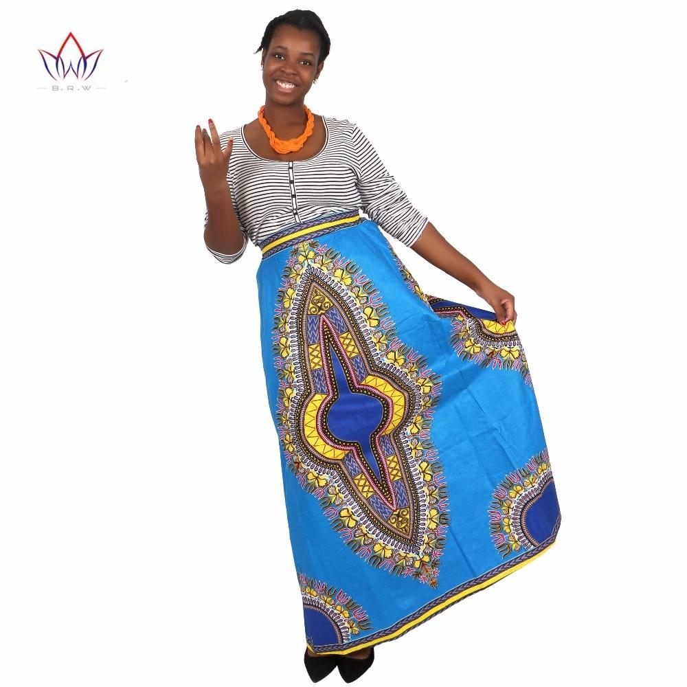 African Skirts for Women Long African Skirts Maxi Skirt Retro Fashion African Clothes Faldas Largas Estampadas 6XL BRW WY1370 1