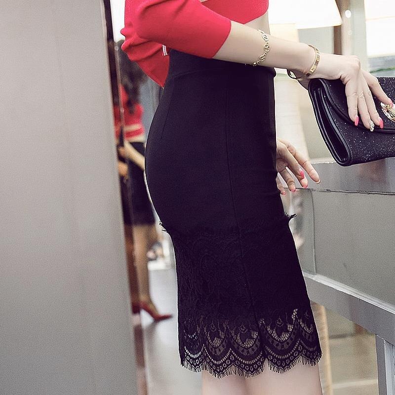 16 Summer New Casual Fashion Elegant Sexy Slim Bodycon Lace Mini Women OL Pencil Skirt Plus Size jupe sexy junior rokken 3