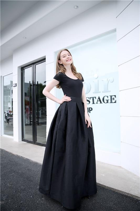 FOLOBE High Waist Party Dance Maxi Female Skirts New Style Womens Floor Length Hot Sale Ladies Long Summer Skirt 2