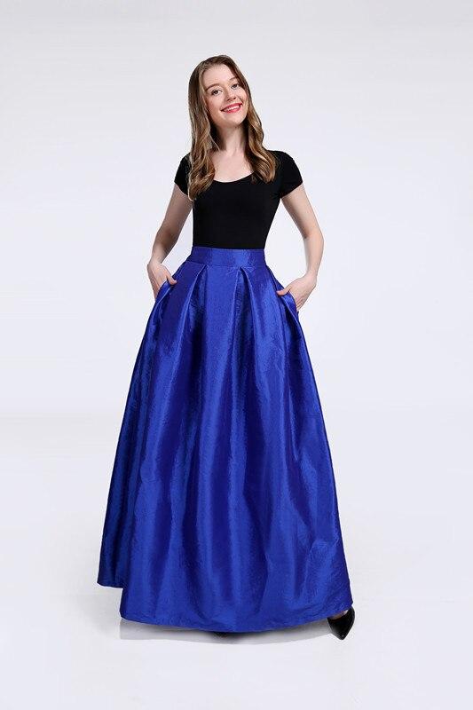 FOLOBE High Waist Party Dance Maxi Female Skirts New Style Womens Floor Length Hot Sale Ladies Long Summer Skirt 3