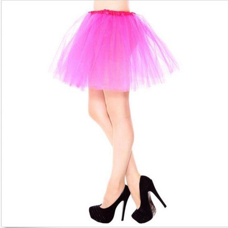 Factory 3 layers Tulle tutu Organza Skirt Party Performance Tutu Petticoat Fluffy Teenage Girl Adualt Women Pettiskirt ball gown 2