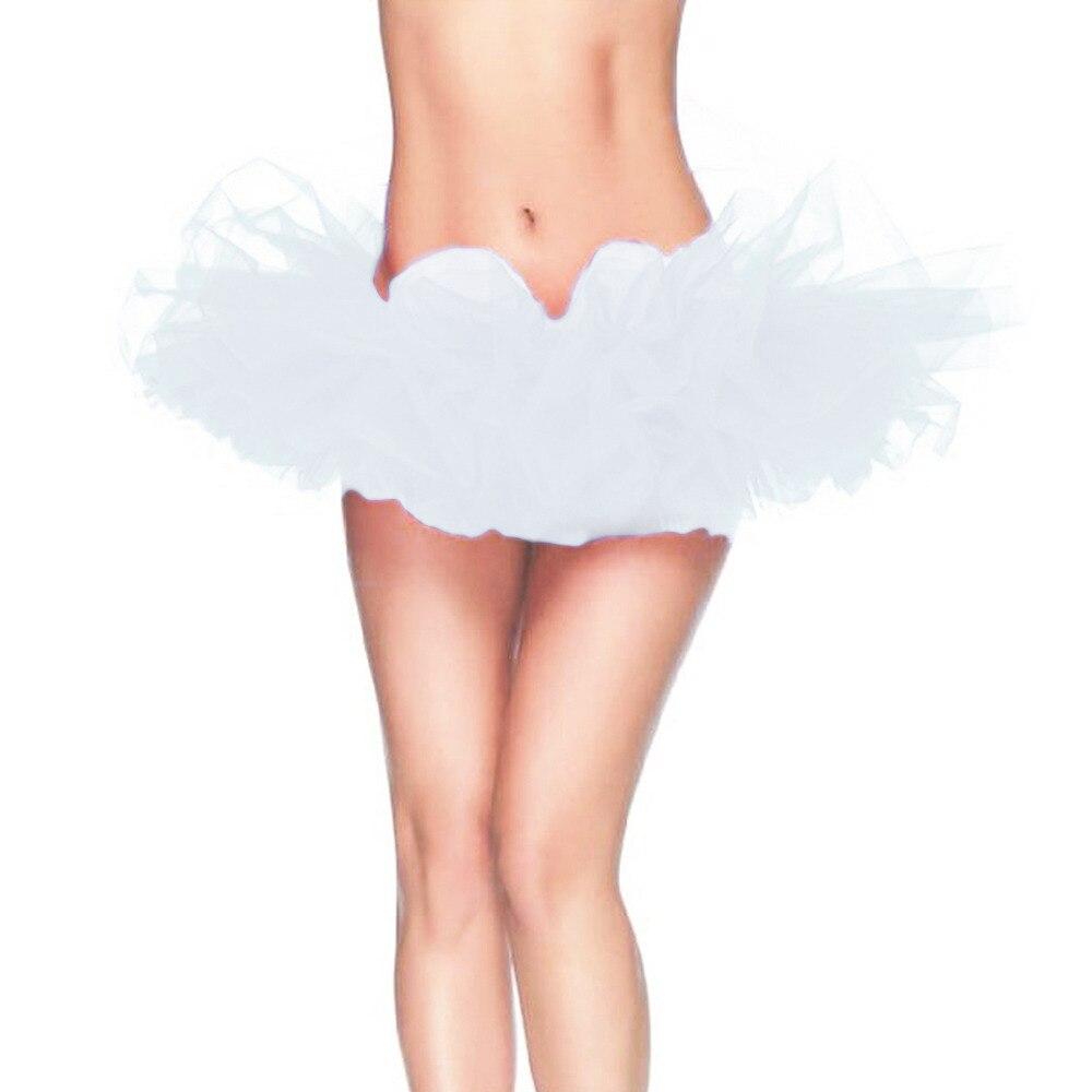 13 Colors Adult Petticoat Fancy Outfit Costume Tulle Tutu Skirt Lady's TUTU Mini Skirt Free Size 2