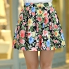 17 women's pleated chiffon slim package hip skirt loose skirt short skirt female bust saia femininas skirts Plus size XXL