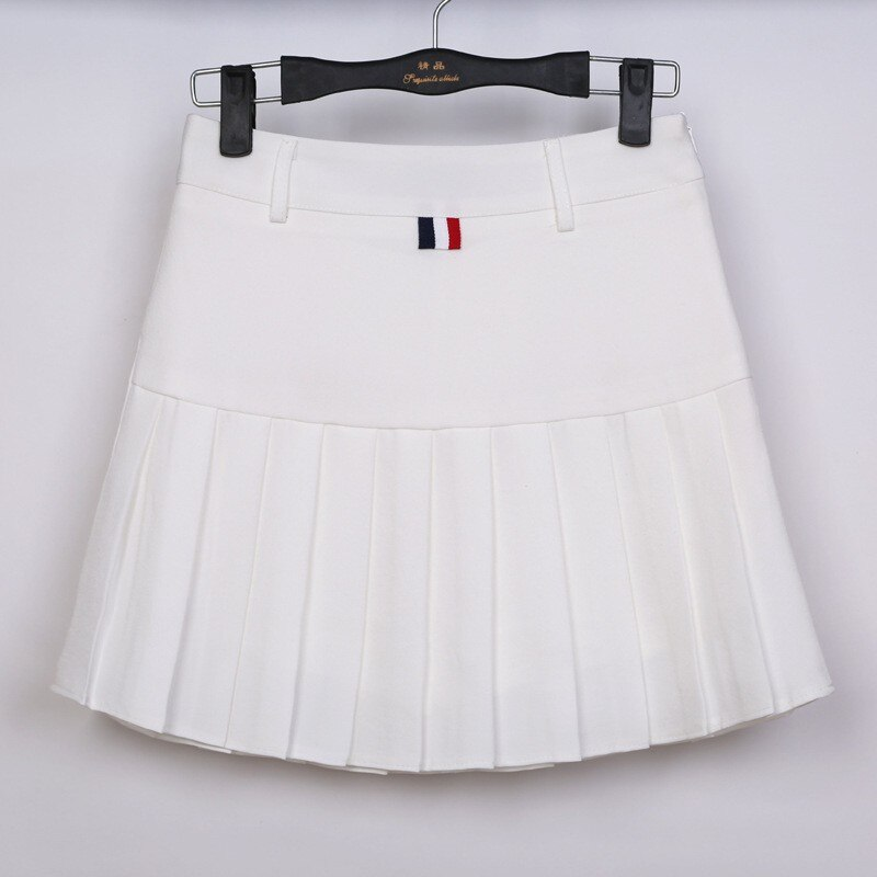 high waist pleated skirts Kawaii Harajuku Skirts women girls lolita a-line sailor skirt Large Size Preppy school uniform 3