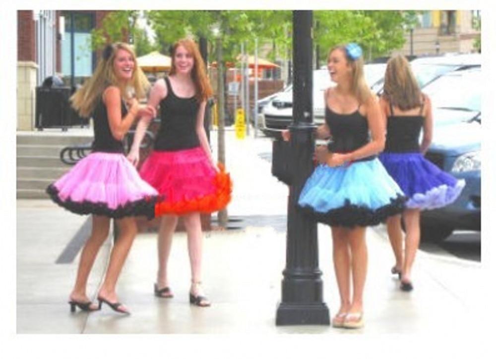 FOLOBE Women's Girls Tutu Skirts Costume Ballet Dancewear Skirts Multi-layer Puffy Skirt Luxurious Petticoat Underskirts TT004 2