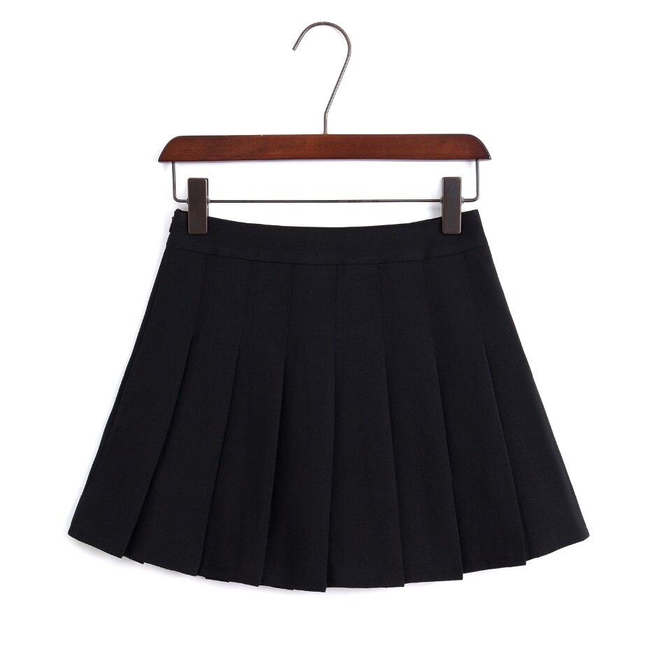 19 New Arrival Young Pleated High Waist Mini Skirts Summer Sweet South Korean Student Skirt Japanese school uniform Hot sales 3