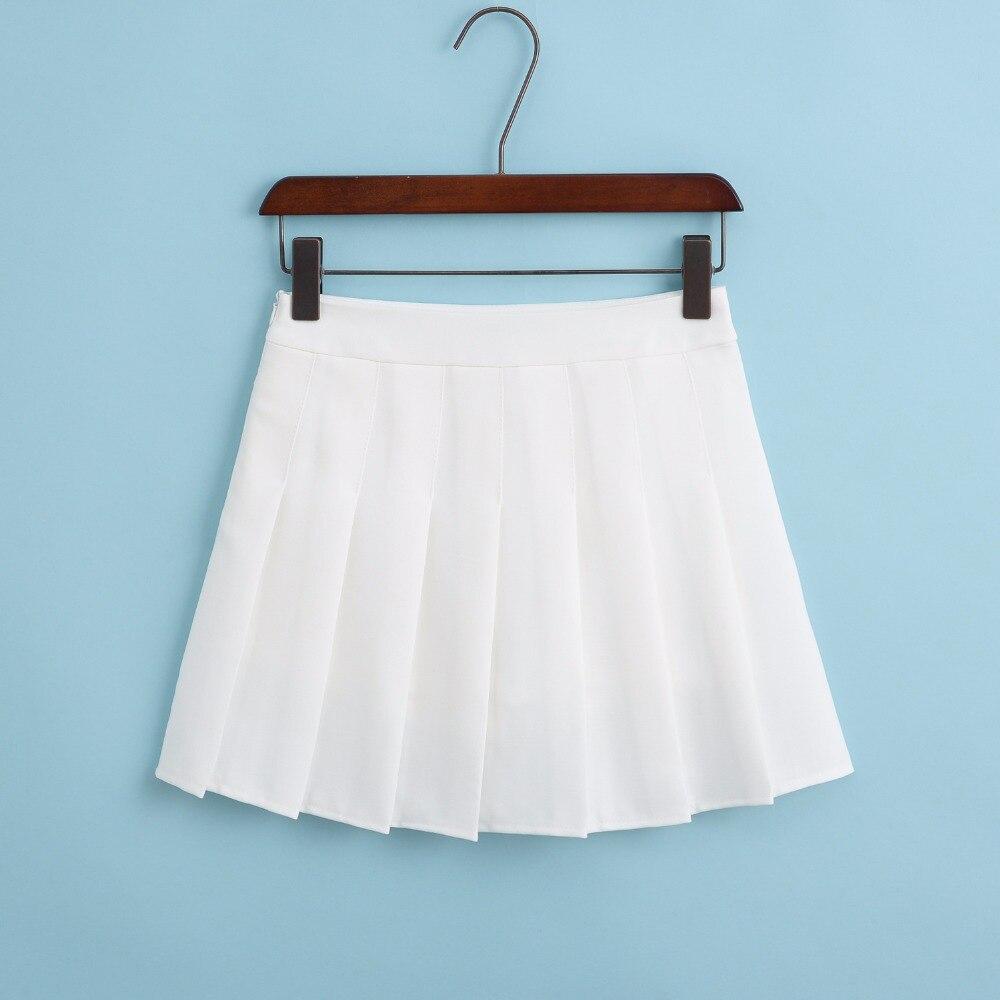 19 New Arrival Young Pleated High Waist Mini Skirts Summer Sweet South Korean Student Skirt Japanese school uniform Hot sales 2