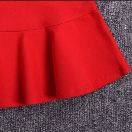 18 Women Ruffles Mermaid Skirt Female High Elastic Waist Slim Fishtail Skirts OL Formal Work Plus Size S-4XL 3