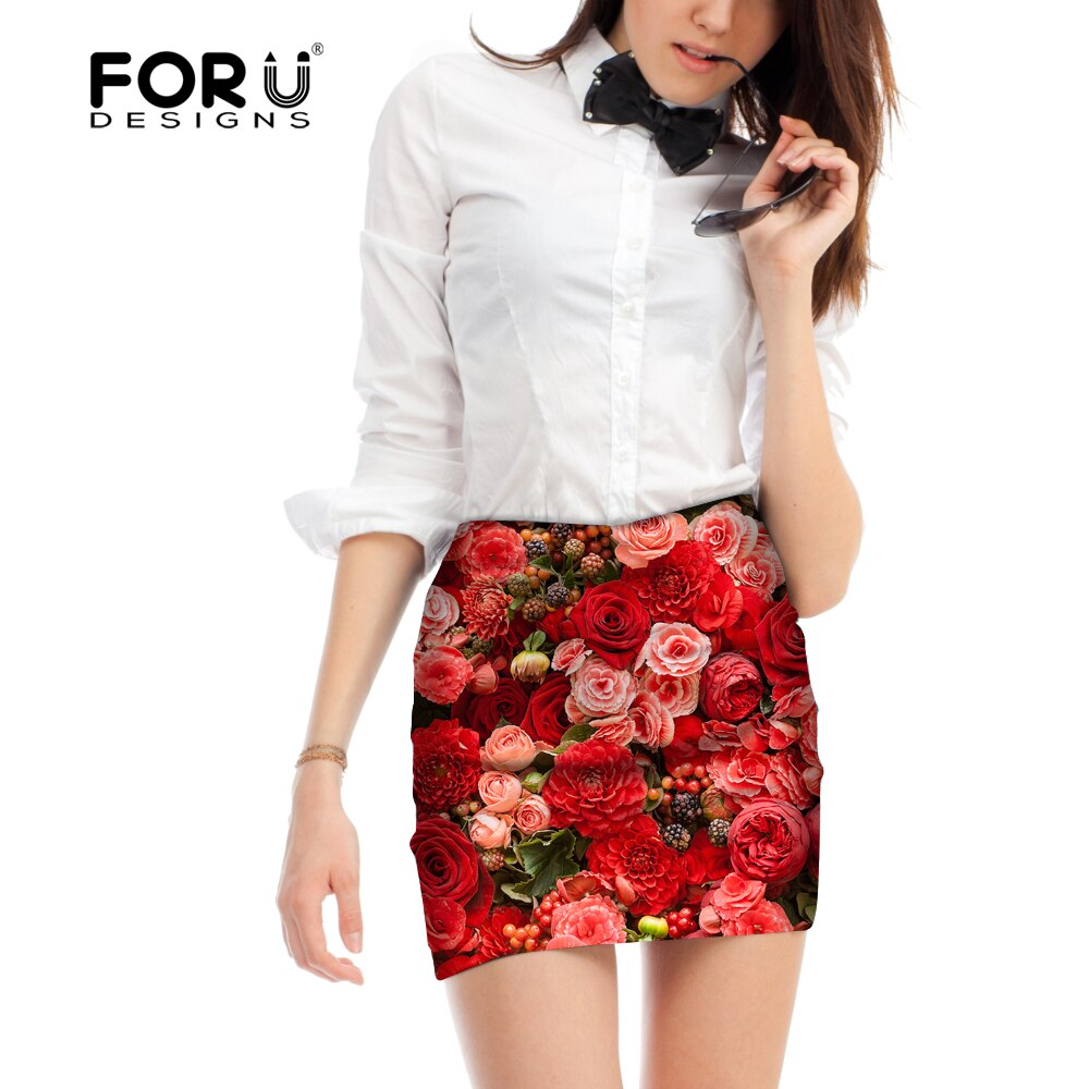 FORUDESIGNS Short Elastic Rayon Bandage Skirt Mini Sexy Slim Tight Pencil Night Club Party Women Skirts Fashion Woman Skirts