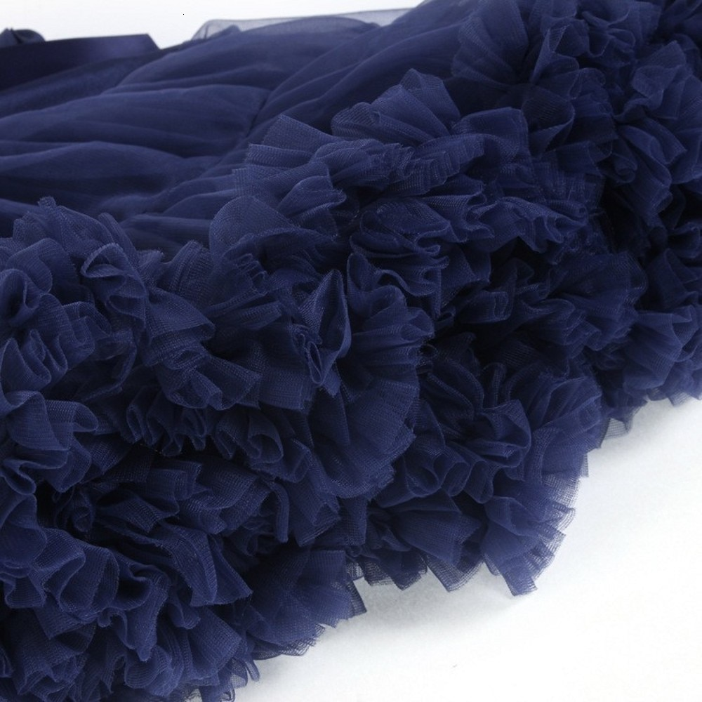 Cosplay fluffy Teenage tutu skirt veil performances skirt Sexy Role Play Pleate Mini Skirt Ruffle for Schoolgirl 2