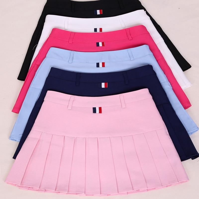 high waist pleated skirts Kawaii Harajuku Skirts women girls lolita a-line sailor skirt Large Size Preppy school uniform 2