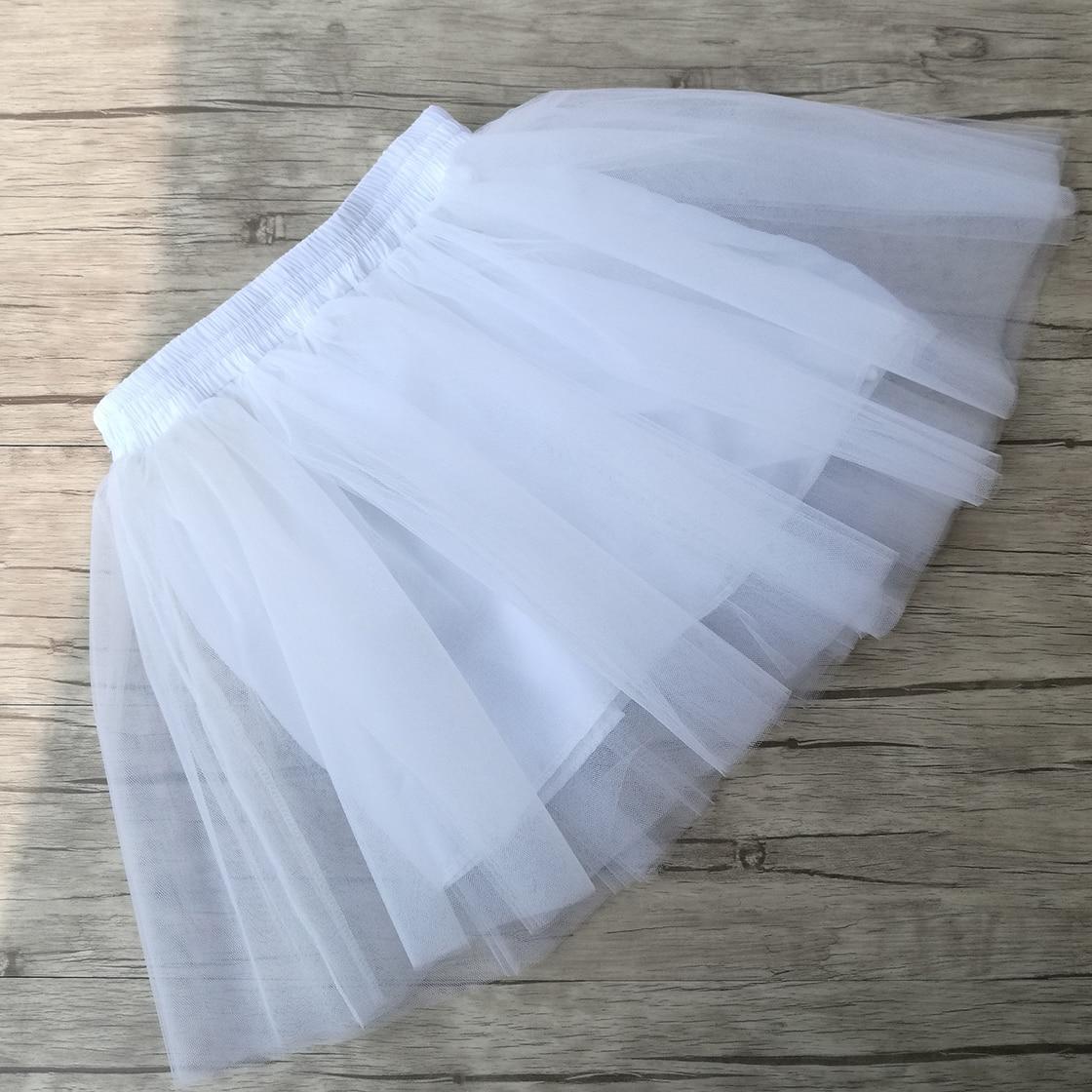 Summer Womens Mini Tulle Skirt Fairy Style Custom Made 5 layers saia Voile Bouffant Puffy Fashion Skirt Summer Tutu Skirts 2