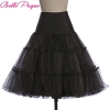 Tulle Skirts Women 18 Summer New Faldas Skirt Big Swing High Waist Saias Jupe Rockabilly Vintage Wiggle Skirt Petticoat