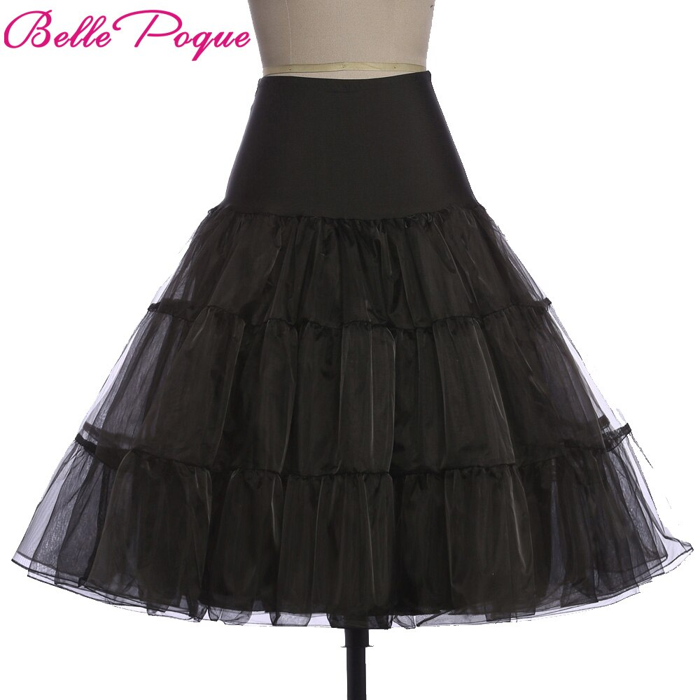 Tulle Skirts Women 18 Summer New Faldas Skirt Big Swing High Waist Saias Jupe Rockabilly Vintage Wiggle Skirt Petticoat