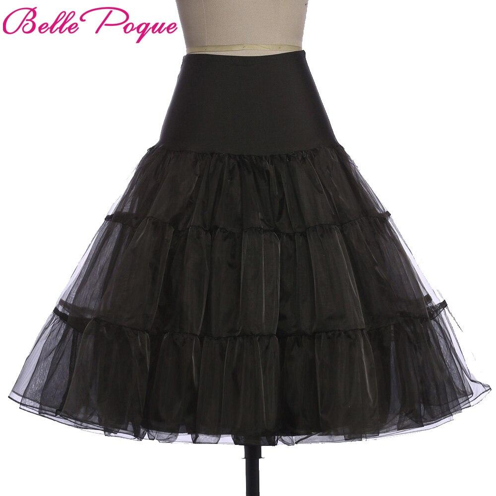 Tulle Skirts Women 18 Summer New Faldas Skirt Big Swing High Waist Saias Jupe Rockabilly Vintage Wiggle Skirt Petticoat 1