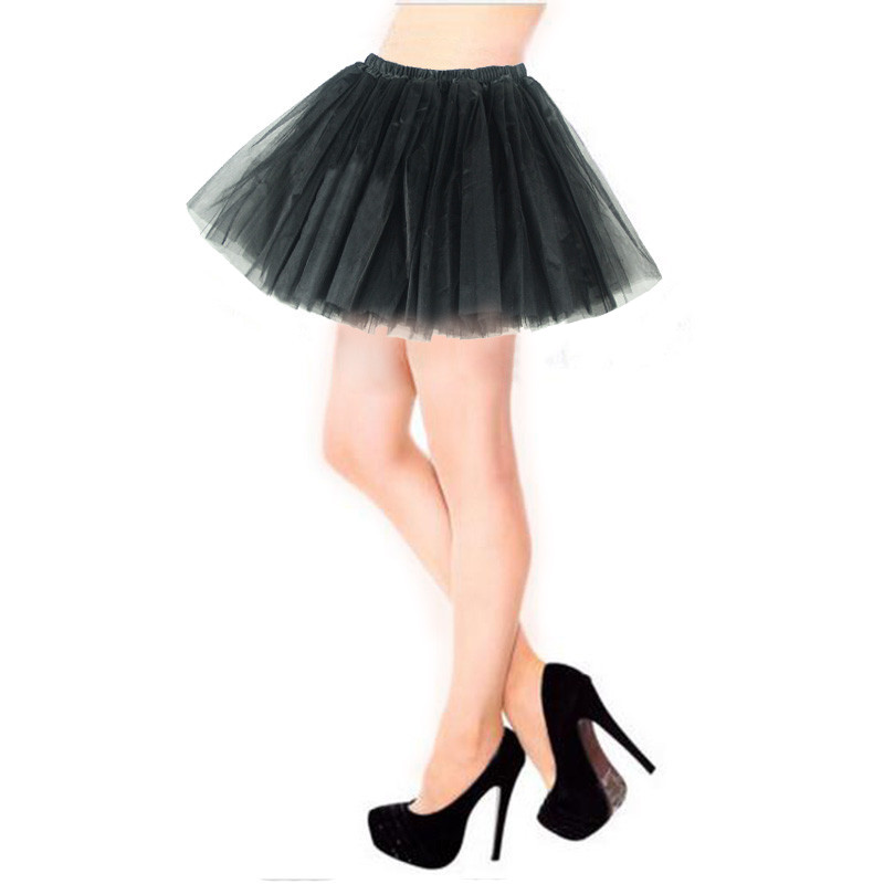 Women Tulle Skirts 19 New Arrival Unique Three Layers Super Fluffy Lush Party Performance Gorgeous Women Tutu Petticoat Skirt
