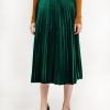 16 Chic Vintage Woman highwaist Pleated Velvet skirt Slim Maxi skirt Autumn Winter Velvet Skirt Fashion Long Warm Skirts