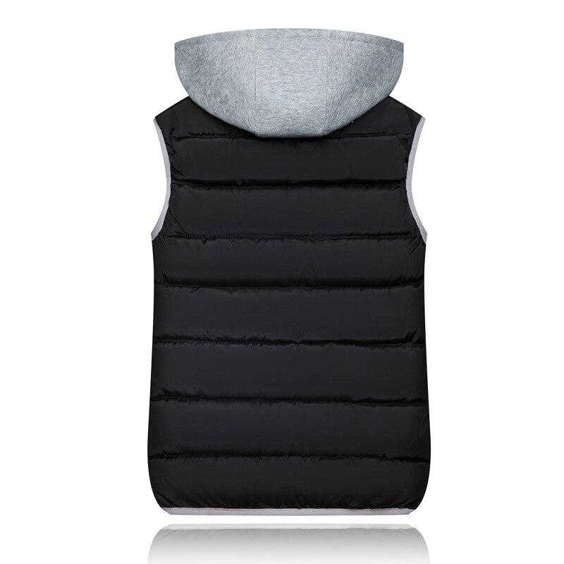 2019 Winter Coat Women Hooded Warm Vest Plus Size Candy Color Cotton Jacket Female Women Wadded Feminina chalecos 2