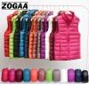 Zogaa Brand Woman Winter Vest Cotton Sleeveless Womens Jackets Zogaa Brand Woman Winter Vest Cotton Sleeveless Womens Jackets 12 Colors Ultralight Down Jacket Puffer Vest Outwear Warm Coat