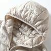Hooded Spring Autumn Ultra Light Sleeveless Coat Plus Size Women's Vest Duck Down Jacket Woman Hooded Spring Autumn Ultra Light Sleeveless Coat Plus Size Chalecos Para Mujer J3831