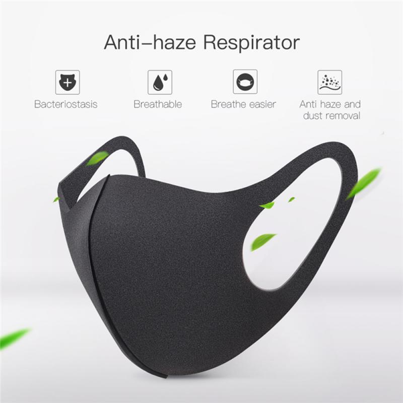 100 Pcs Washable Dust ProofReusable Face Mouth Mask , Breathable Super Soft Fabric, Fashion Slim Face Design 2
